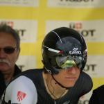 Jesse Sergent bei Zeitfahren der Tour de Romandie 2014