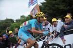 Vincenzo Nibali gewinnt in La Planche des Belles Filles seine zweite Etappe bei der Tour 2014 (Foto: Veranstalter/letour.fr)