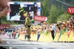 Am Tag nach seinem zweiten Platz in Chamrousse gewinnt Rafal Majka in Risoul (Foto: Veranstalter/letour.fr)