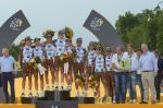 Alle 9 Fahrer von AG2R La Mondiale erreichten Paris und trugen zum Sieg in der Mannschaftswertung bei (Foto: Veranstalter/letour.fr)