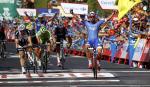 Nacer Bouhanni im Massensprint der 2. Vuelta-Etappe eindeutig nicht zu schlagen