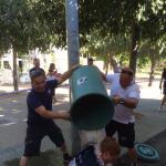 Ice Bucket Challenge: Dominic Klemme (Foto: Twitter/@GuyotLolo53)