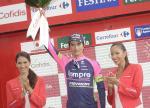 Winner Anacona Etappensieger und fast Leader der Vuelta a España - Quintana neuer Mann in Rot