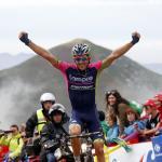 Noch ein glücklicher Ausreißer: Niemiec erreicht Lagos de Covadonga wenige Sekunden vor den Favoriten