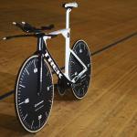 Die Rennmaschine, mit der Jens Voigt den Stundenweltrekord auf 51,115 Kilometer anhob (Quelle: instagram.com/thejensie)