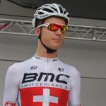 Michael Schär im Trikot des Schweizer Meisters bei der Tour de Suisse 2014