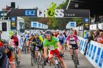 Francis Mourey im grünen Leadertrikot der EKZ CrossTour (Foto: chrisroosfotografie.ch/Chris Roos)