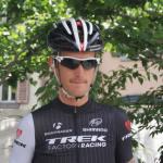 Andy Schleck bei der Tour de Suisse in Martigny