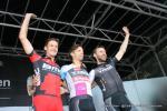 Podium des Abschiedsrennens - Marcus Burghardt - Danilo Hondo - Jens Voigt