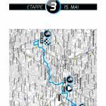 Karte 3. Etappe Bayern Rundfahrt 2015