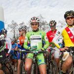 EKZ CrossTour Eschenbach: Eva Lecher im Leadertrikot am Start (Foto: radsportphoto.net/Steffen Müssiggang)