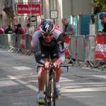 ... beim Prolog des Criterium du Dauphiné 2009