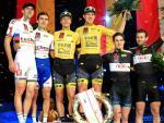 Die Sieger des 104. Berliner Sechstagerennens (Foto: Mareike Engelbrecht, www.cycling-pics.com)