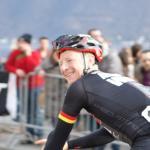 Fabian Wegmann gut gelaunt nach dem Rennen