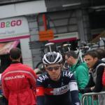ein Schweizer in Belgien - Patrick Schelling auf dem Weg zum Start in Lüttich
