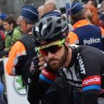Bart ist in - Simon Geschke vor dem Start in Lüttich