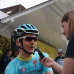 Rein Taaramae im Interview vor dem Start der 3. Etappe in Moutier