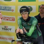 Pierre Rolland macht vor seinem Start zum Einzelzeitfahren einen entspannten Eindruck