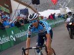 Stefan Denifl bei der Tour de Suisse am Rettenbachferner (Foto: Ötztal Tourismus)