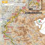 Streckenverlauf Tour de France 2015 - Etappe 18