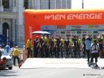 Team Cult Energy am Start zum Mannschaftszeitfahren