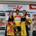 Víctor De La Parte hat auf der 7. Etappe in Innsbruck seine Führung im Gesamtklassement verteidigt