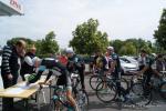 Team Leopard bei der Einschreibung in Ribeauvillé