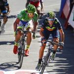Vuelta a España: Valverde schlägt Sagan und Moreno im Bergsprint, Chaves bleibt im Roten Trikot
