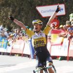 Lindeman siegt als Ausreißer bei erster langer Vuelta-Bergankunft – Froome schwächelt, Chaves nicht