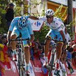 Aru und sein Team machen Dumoulin den Garaus - Plaza nach Solo über 117 km Sieger der letzten Vuelta-Bergetappe