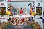 Die Schweizerin Daniela Ryf gewinnt in weniger als 9 Stunden den Ironman Hawaii (Foto: ironman.com)