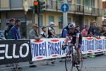 Marcel Wyss kommt mit großem Rückstand als bester IAM-Fahrer im Ziel in Como an