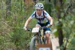 Unschlagbar nach drei Etappen und im Damenführungstrikot: Sarah White aus Cairns (Foto: Crocodile Trophy)