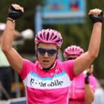Ina-Yoko Teutenberg mit Etappensieg zwei - Bravo! (Foto: www.t-mobile-team.com)