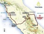 Präsentation Tirreno-Adriatico 2016: Streckenverlauf