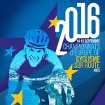 Plakat der Europameisterschaft 2016 (Quelle: @UEC_cycling)