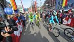 Giro del Trentino war zuletzt vor 3 Jahren zu Gast in Osttirol - Ivan Basso beim Start in Lienz (Foto: Mosna)