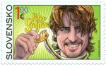 Slowakische Sonder-Briefmarke zu Ehren von Peter Sagan (Quelle: Cyclingnews)