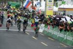 Michael Albasini gewinnt die 5. Etappe der Tour de Romandie in Genf