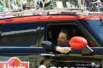 hier ist Tom Dumoulin noch Beifahrer ...