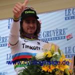 Weltmeister Peter Sagan gelang sein 13. Etappensieg bei der Tour de Suisse (Foto: cyclinginside)