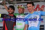 Die Top3 der 1. Etappe (v.l.n.r.): Andrea Pasqualon, Nicola Ruffoni, Yannick Martinez (Foto: cyclinginside)