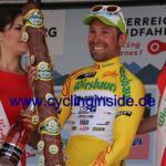 Mit dem Etappensieg eroberte Nicola Ruffoni auch das Gelbe Trikot (Foto: cyclinginside)