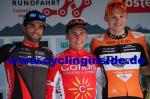 Die Top3 der 2. Etappe (v.l.n.r.): Andrea Pasqualon, Clément Venturini, Sjoerd van Ginneken (Foto: cyclinginside)