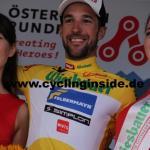 Markus Eibegger erobert in Sonntagberg das Gelbe Trikot der Österreich Rundfahrt (Foto: cyclinginside)