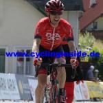Brendan Canty sieht man die Freude beim Schlussanstieg wahrlich an (Foto: cyclinginside)
