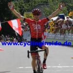 Der Australier Brendan Canty gewinnt die 3. Etappe als Solist (Foto: cyclinginside)
