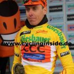 Mit über einer Minute Vorsprung führt Jan Hirt nun die Gesamtwertung an (Foto: cyclinginside)