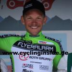 Matthias Krizek erobert als Ausreißer das Grüne Trikot der Österreich Rundfahrt (Foto: cyclinginside)