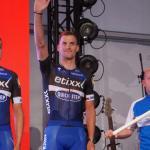 Zdenek Stybar bei der Teampräsentation der Tour de Suisse